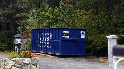 30 Cubic Yard Dumpster Rental On Jobsite Bedford, MA