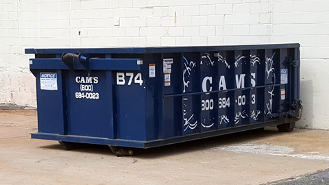 15 Cubic Yard Dumpster Rental Beverly, MA 01915- Dodge Street