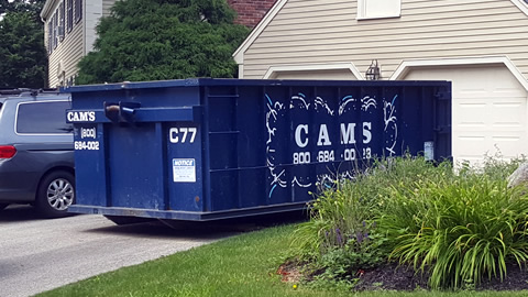 30 Cubic Yard Dumpster Rental Beverly, MA 01915 - Old Planters Road