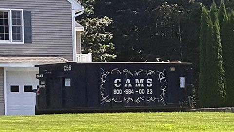 20 Cubic Yard Dumpster Rental - Customer's Jobsite Captains Way, Billerica, MA