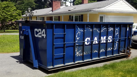 20 Yard Dumpster Rental Burlington, MA - Evelyn Street