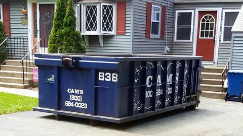 15 Cubic Yard Dumpster Rental Mill Street, Burlington, MA