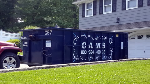 Cam's 20 Cubic Yard Dumpster Rental Burlington, MA - Harris Drive