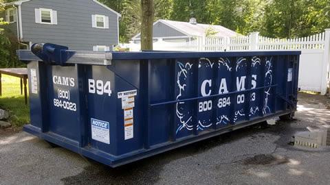 15 Cubic Yard Dumpster Rental Burlington, MA - Wilmington Road
