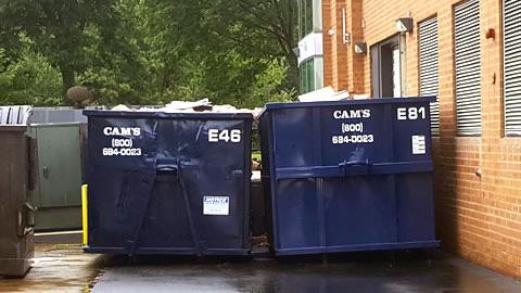 Two 30 Cubic Yard Dumpster Rentals Blanchard Road, Burlington, MA