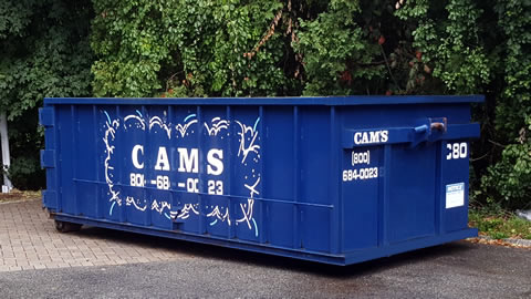 20 Cubic Yard Dumpster Rental Burlington, MA - Mall Road