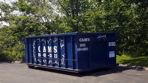 15 Cubic Yard Dumpster Rental Gloucester, MA 01930 - Old Nugent Farms Road