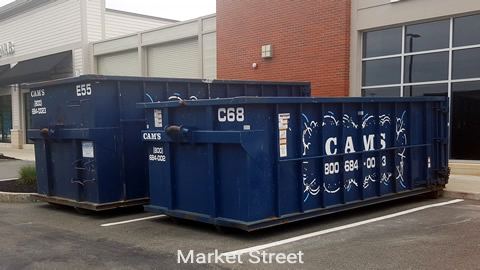 30 and 20 Cubic Yard Dumpster Rental Lynnfield, MA 01940 - Market Street