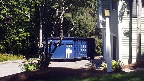 20 Cubic Yard Dumpster Rental North Andover, MA 01845 - Sandra Lane