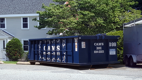 15 Cubic Yard Dumpster Rental North Andover, MA 01845 - Main Street