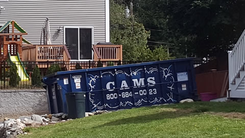 15 Cubic Yard Dumpster Rental North Reading, MA 01864 - Bradley Road