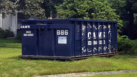 15 Cubic Yard Dumpster Rental North Reading, MA - Anthony Road