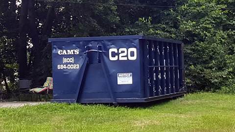 20 Cubic Yard Dumpster Rental North Reading, MA 01864 - Pluff Avenue