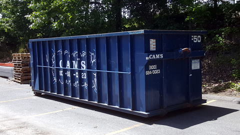 30 Cubic Yard Dumpster Rental North Reading, MA 01864 - Concord Street