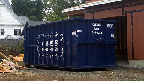 30 Cubic Yard Dumpster Rental Reading, MA - Chapin Avenue
