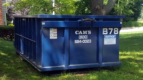 15 Cubic Yard Dumpster Rental Reading, MA 01867 - Franklin Street