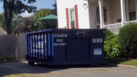 15 Cubic Yard Dumpster Rental Saugus, MA - Putnum Street