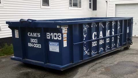15 Cubic Yard Dumpster Rental Stoneham, MA - Orchard Road