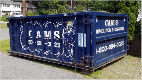15 Cubic Yard Dumpster Rental Stoneham, MA - Evergreen Road