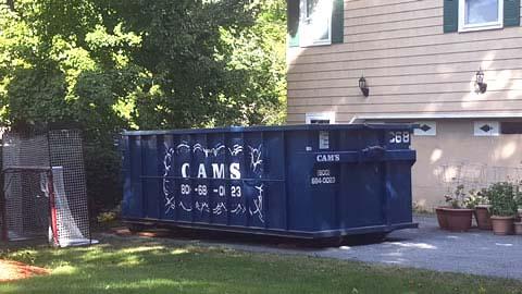 20 Cubic Yard Dumpster Rental Stoneham, MA - Dinanno Road