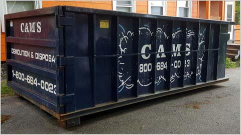 20 Cubic Yard Dumpster Rental Stoneham, MA - Gould Street