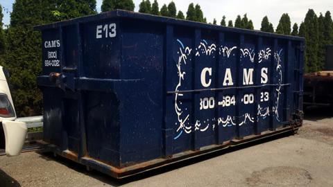 30 Cubic Yard Dumpster Rental Tewksbury, MA 01876 - Shawsheen Street
