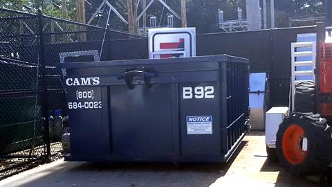 15 Cubic Yard Dumpster Rental Tewksbury, MA - Shawsheen Street