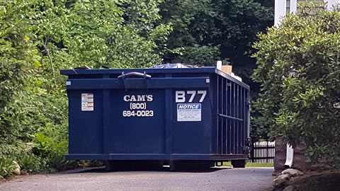15 Cubic Yard Dumpster Rental Mountain Avenue, Wakefield, MA