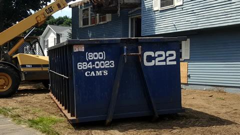 20 Cubic Yard Dumpster Rental Jackson Lane, Wakefield MA