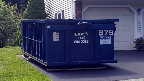 15 Cubic Yard Dumpster Rental Wakefield, MA 01880 - West Park Drive