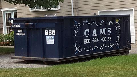 15 Cubic Yard Dumpster Rental Wilmington, MA - Kenwood Avenue