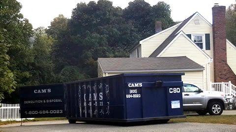 20 Cubic Yard Dumpster Rental Wilmington, MA - High Street