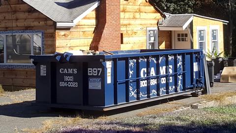15 Cubic Yard Dumpster Rental Woburn, MA - Samoset Road