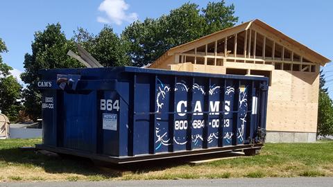20 Cubic Yard Dumpster Rental Woburn, MA - Churchhill Road