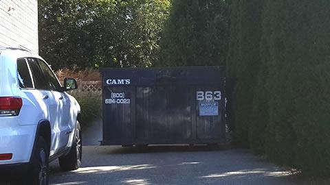 20 Cubic Yard Dumpster Rental Woburn, MA - Colonial Road