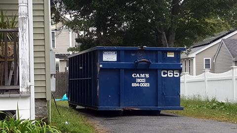 15 Cubic Yard Dumpster Rental Woburn, MA - Stoddard Street