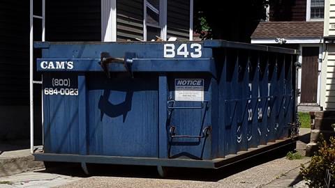 15 Cubic Yard Dumpster Rental Woburn, MA - Everett Street