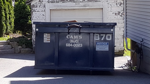 15 Cubic Yard Dumpster Rental Woburn, MA - Houghton Street