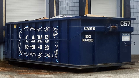 20 Cubic Yard Dumpster Rental Woburn, MA - 6th Road
